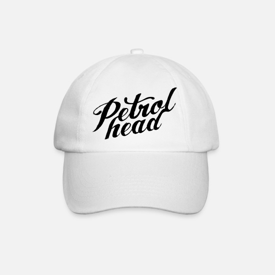Car Caps & Hats - JDM Petrol Head | T-shirts JDM - Baseball Cap white/white