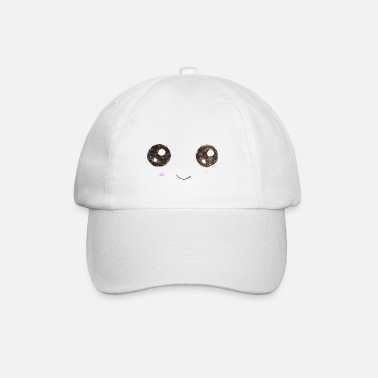 For Kids Kids for Kids: Smiling Face - Baseball Cap