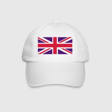 Jack Union Jack - Great Britain - Union flag, versatile 2 colour vector - Baseball Cap