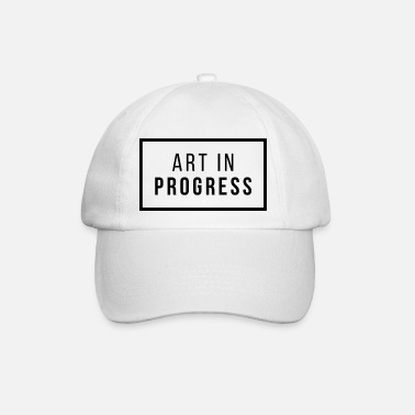 Art in Progress - Baseball Cap