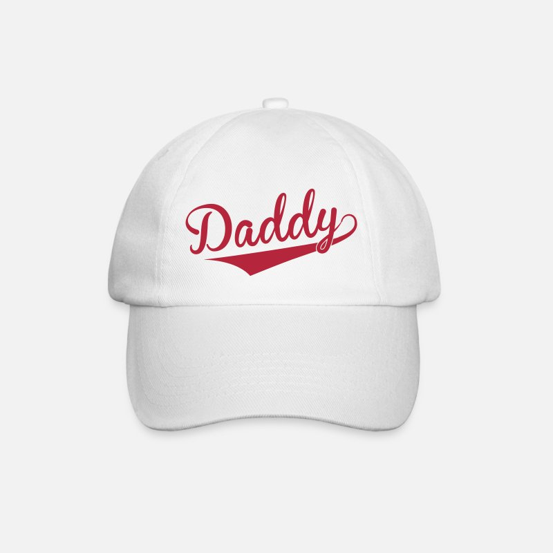Daddy Caps & Hats - Daddy - Baseball Cap white/white