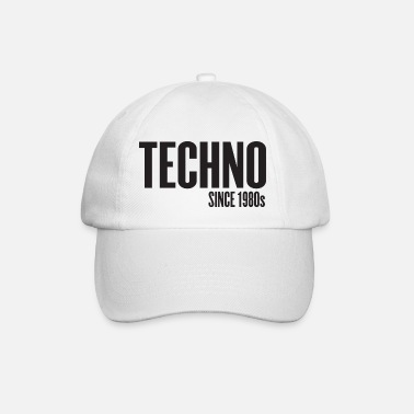 Music Techno Since 1980s - Baseball Cap