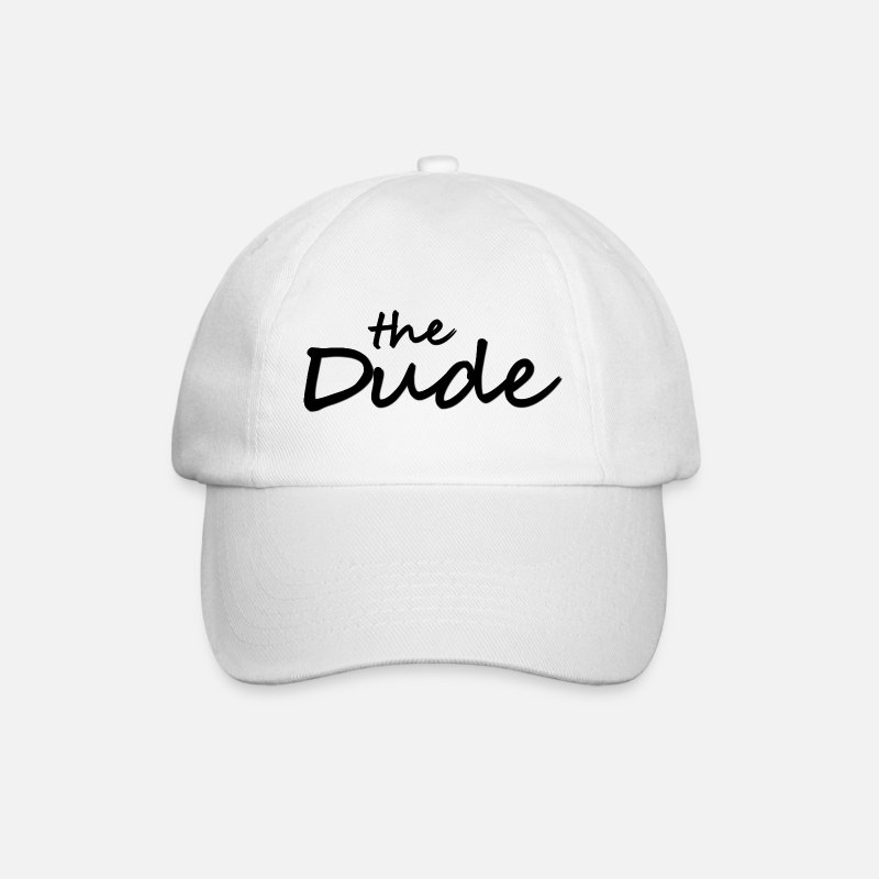 Big Casquettes et bonnets - The Dude - Casquette baseball blanc/blanc