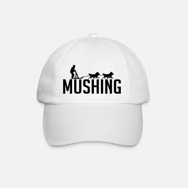 Mush MUSHING dog sport - Baseball Cap