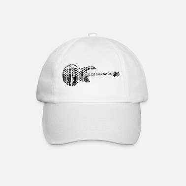 Mp3 Tee shirt rock - Casquette baseball