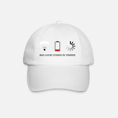 Video Buffer triple bad luck - Baseball Cap