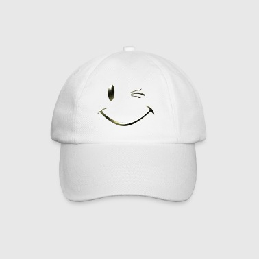 Tshirt smiley clin d'oeil by customstyle - Casquette classique