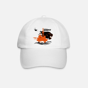 North Sea Brent North Sea Oil Rig Platform Aberdeen - Baseball Cap