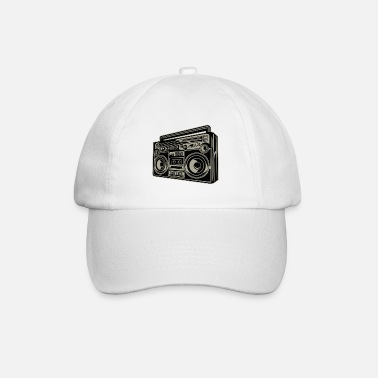 Cassette Player Oldschool cassette player music - Baseball Cap