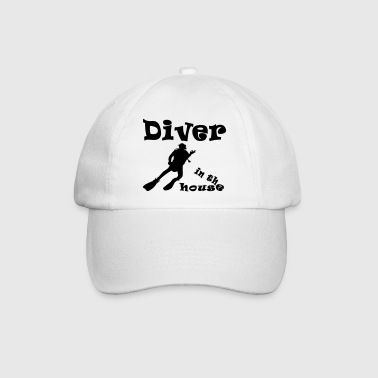 Diver in the house - Baseballkappe