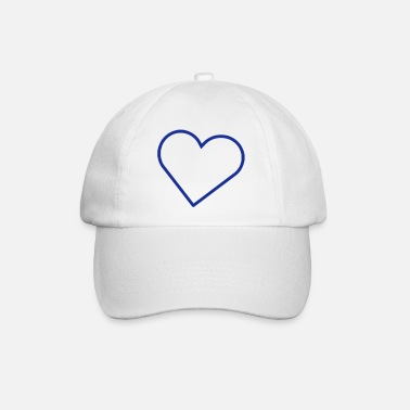 Outline Herz Outline - Baseball Cap