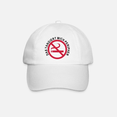 prohibited smoking - Baseball Cap