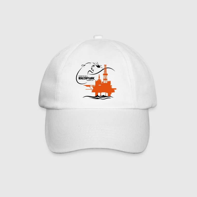 Ekofisk Oil Rig Platform North Sea Norway - Baseball Cap