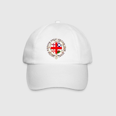 Great Britain team sport national flags - Baseball Cap
