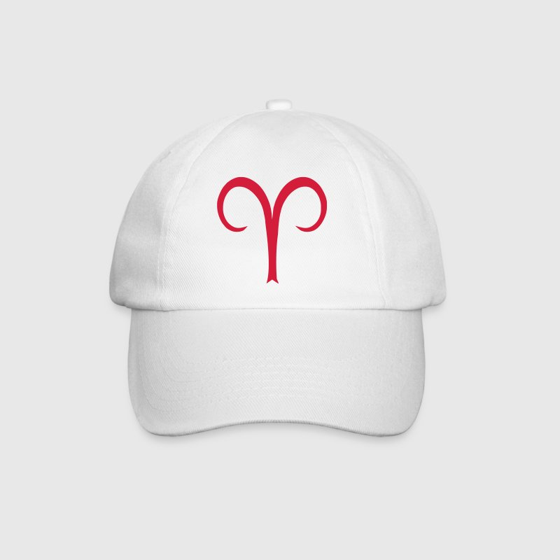 Aries glyph Signs of the Zodiac symbol - Baseball Cap