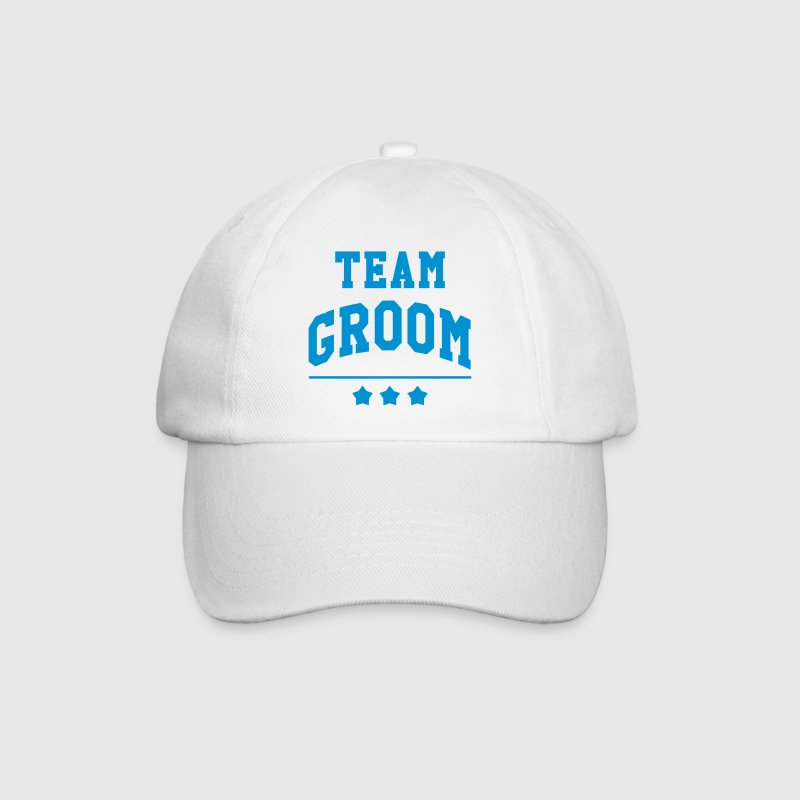 Team Groom - Wedding - Baseball Cap