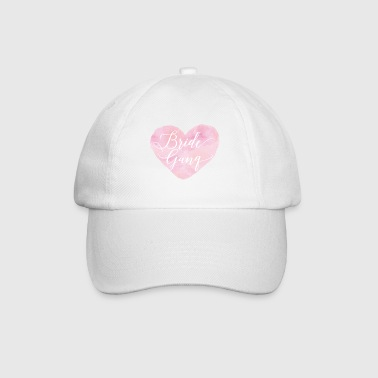 bride_gang_watercolour_heart - Cappello con visiera