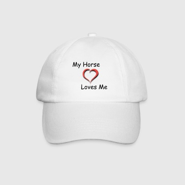 My Horse Loves Me - Cappello con visiera