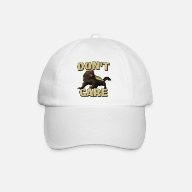 Badger Honey Badger Don't Care - Baseball Cap