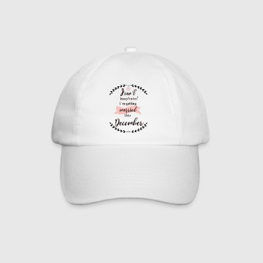 _i_cant_keep_calm_december - Baseballcap