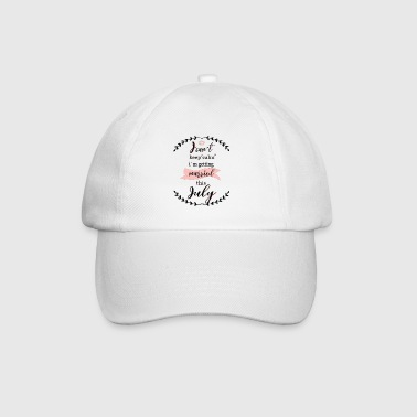 i_cant_keep_calm_july - Baseballcap