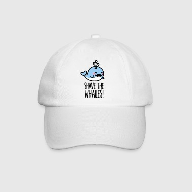 Shave the whales! - Baseballcap