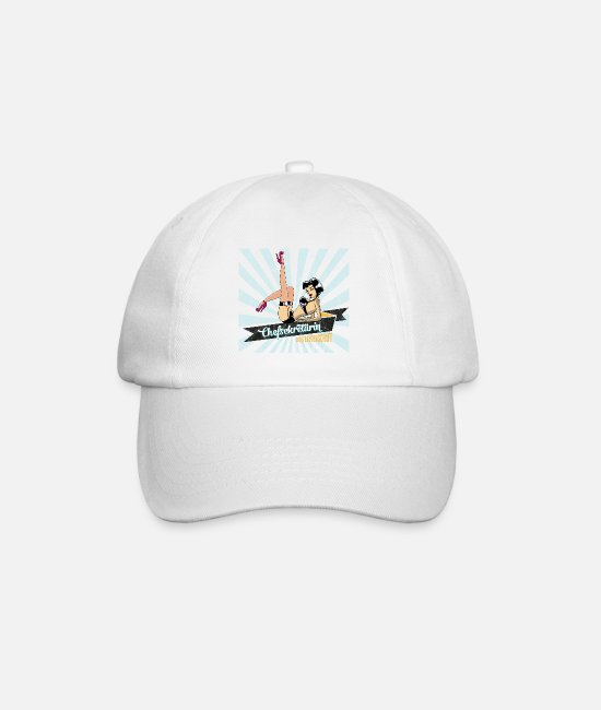 Occupation Caps & Hats - sexy chief secretary secretary retro gift woman - Baseball Cap white/white