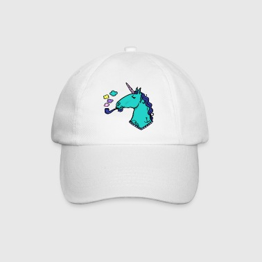 unicorn + whistle + tatoo - Baseballkasket