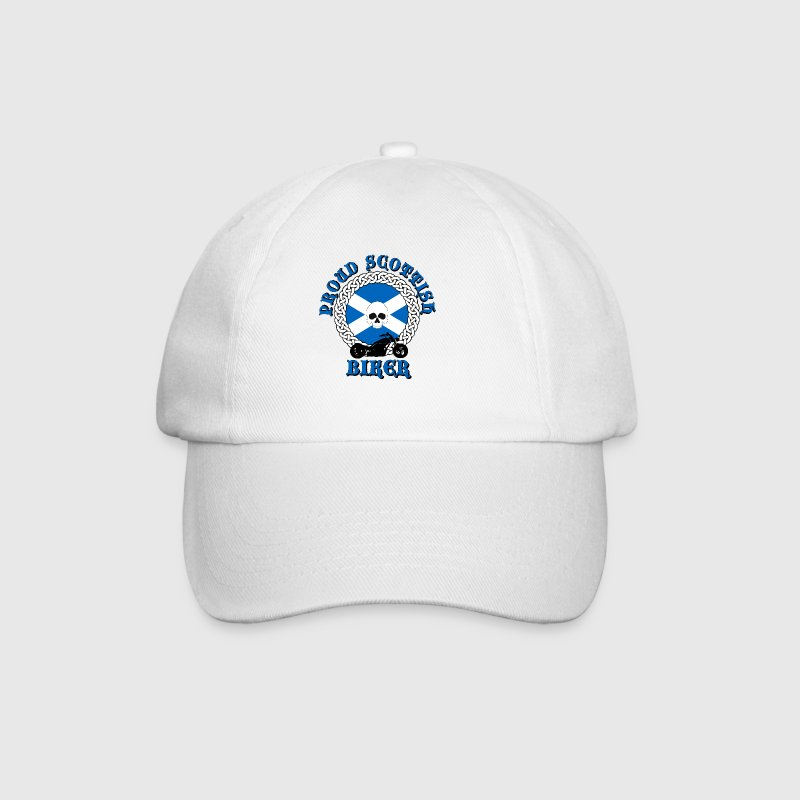 Proud Scottish Biker - Baseball Cap