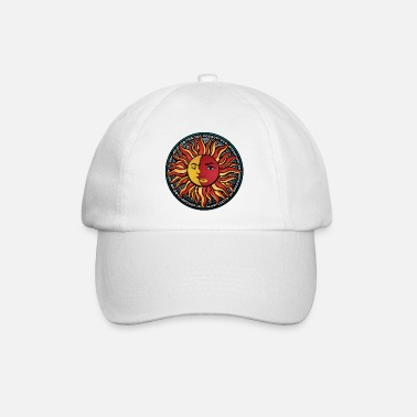 Mandala combination Sun Moon Sun & Moon No.3 - Baseball Cap