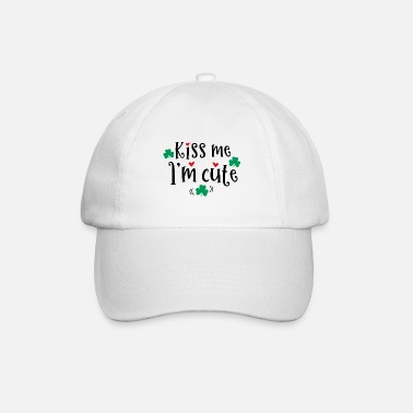 Kiss Me Im Kiss me Im kissing cute gift kiss - Baseball Cap