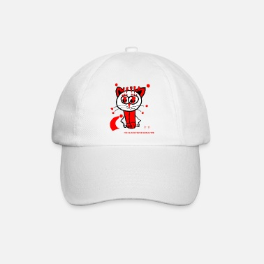 Punctuation Marks The exclamation mark cat loves punctuation marks - Baseball Cap