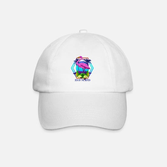 Sex On The Beach Casquettes et bonnets - Flamingo Sex On The Beach - Casquette baseball blanc/blanc