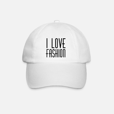 I LOVE FASHION 90s STYLE RETRO 1990 90ies PARIS - Baseball Cap