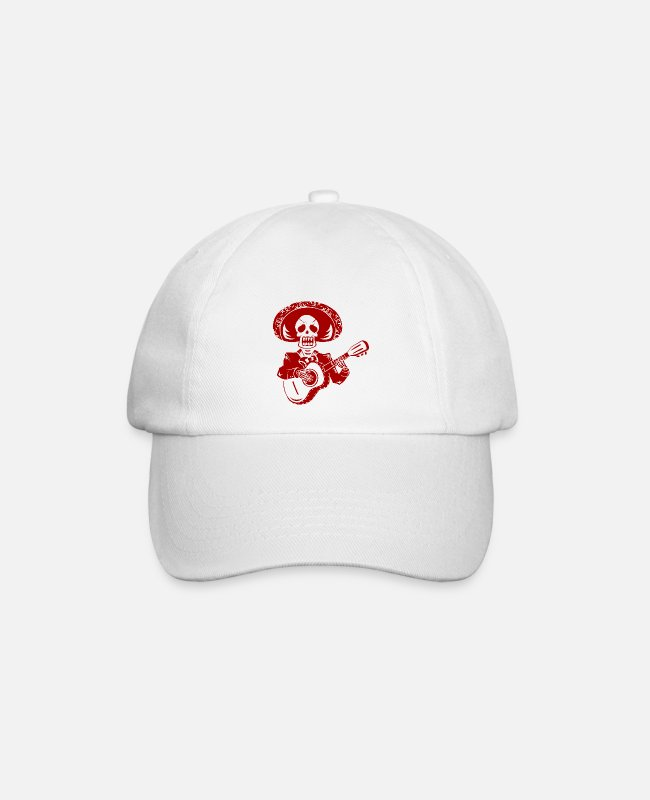 Bf Caps & Hats - Festival of the Dead - Baseball Cap white/white