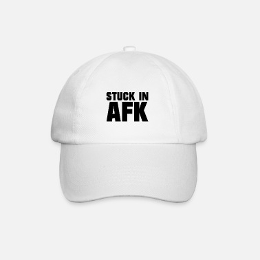 Online Stuck in AFK - Gaming - Baseball Cap