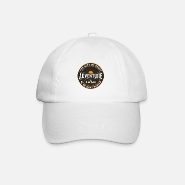 Travel Bug Adventure, Travel Quote, Best Gift For Backpackers - Baseball Cap