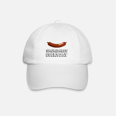 Smoke Meat everyday sausage - illustration - Baseball Cap