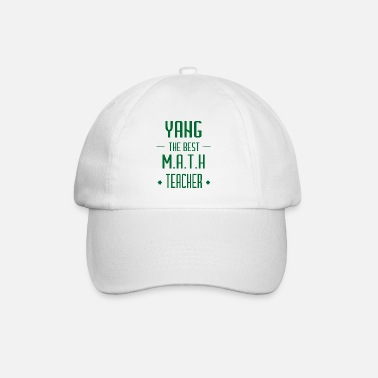 Pi Yang the best math teacher Geschenk - Baseball Cap