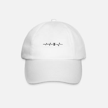 Contact Contact Heartbeat Contact avec des amis - Casquette baseball