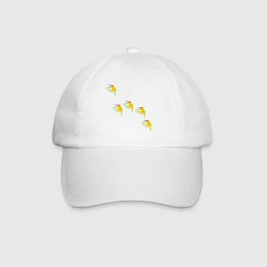 five hummingbirds - Baseball Cap