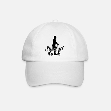 Two-wheeled Two-wheel scooter hobby leisure gift - Baseball Cap