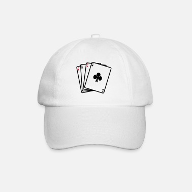 Cards poker cards - Baseball cap