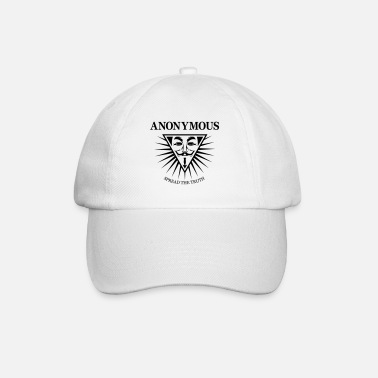 Hacking Revolution Democratie Anonymous NWO - Casquette baseball
