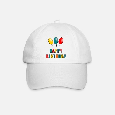 Bestseller HAPPY BIRTHDAY. HAPPY BIRTHDAY. ANNIVERSARY. - Baseball Cap