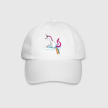 Unicorn pooping rainbow - Gorra béisbol