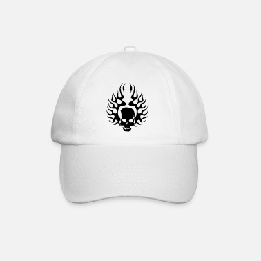 Burning Skull - Baseball Cap
