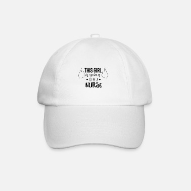 Care Hospital nurse nurse heart gift - Baseball Cap