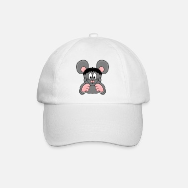 Tier Maus - Boxer - Tier - Kinder - Baby - Baseball Cap