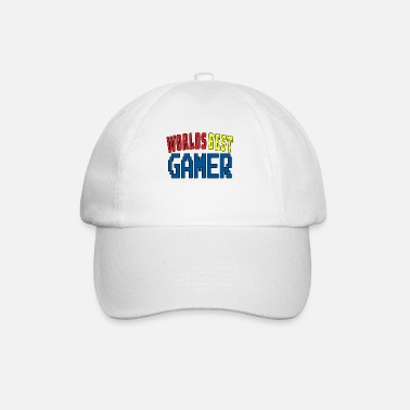 Worlds Best Worlds Best Gamer Brother - Baseball Cap